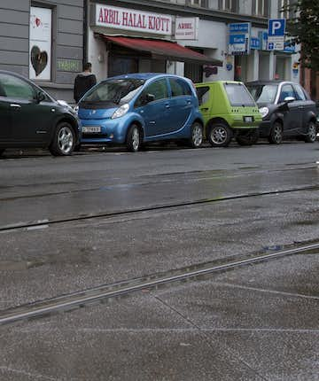 Tesla and other EVs in Oslo