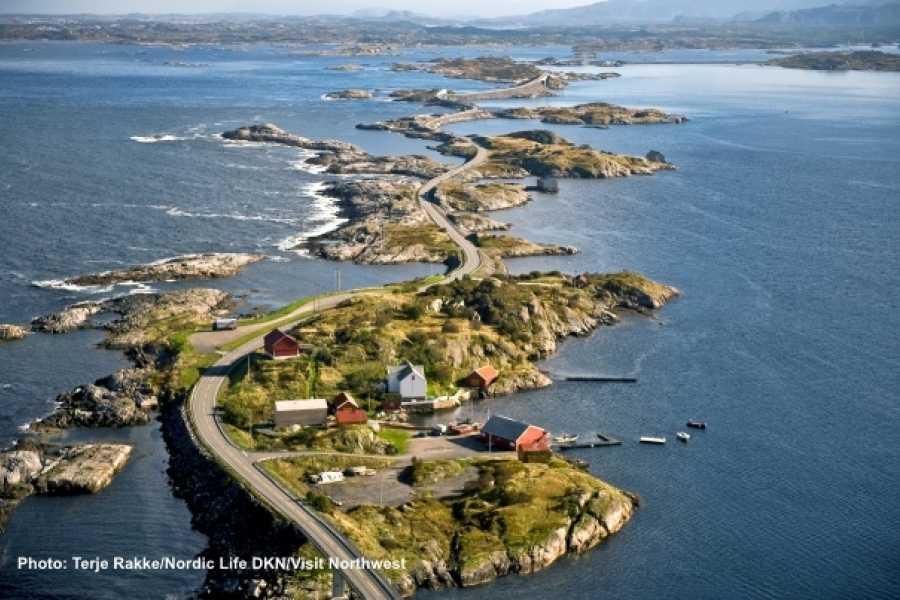 Kristiansund  - Molde Round Trip Via The Atlantic Road   Kristiansund Bus Tour