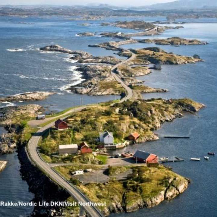 Kristiansund  - Molde Round Trip Via The Atlantic Road | Kristiansund Bus Tour