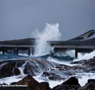 Scenic Round Trip To The Atlantic Road and Kristiansund | Molde Bus Tours