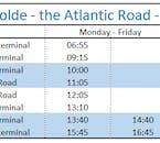 Round Trip to Molde & The Atlantic Road   Alesund Tours