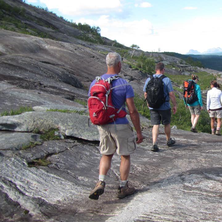 Hiking To Åselidalen Hidden Valley in Bodø Day Tour