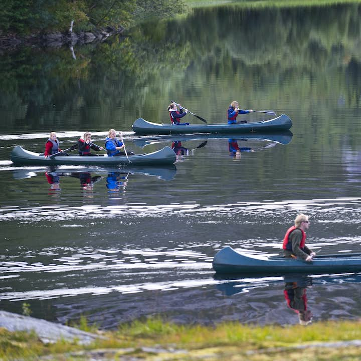 Family Friendly Bodø Canoeing Day Trip in Northern Norway