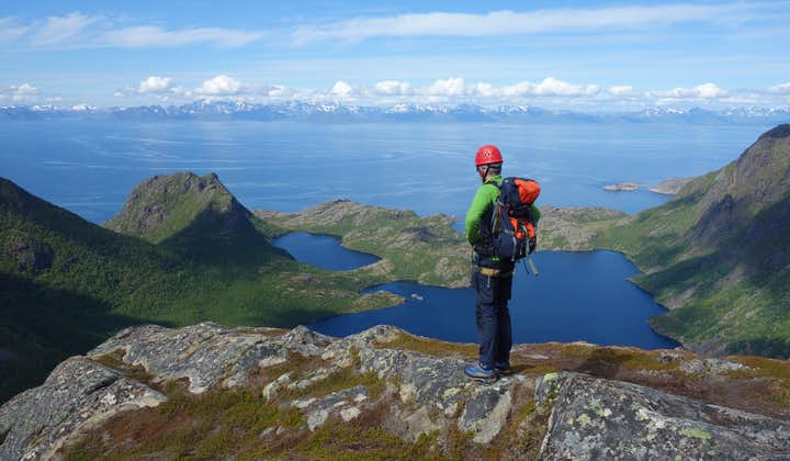 Join Hamarøyskaftet Guided Climb in Northern Norway