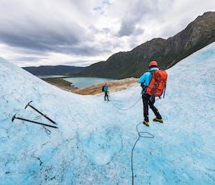 From Bodø to Svartisen Glacier Hiking Tour in Northern Norway
