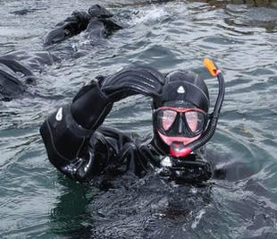 Snorkeling in the Most Powerful Tidal Current in Saltstraumen