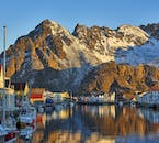 Lofoten in majesctic winter