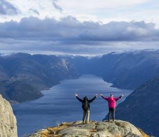 Preikestolen Autumn Mountain Hiking Tour - Lysefjord Norway